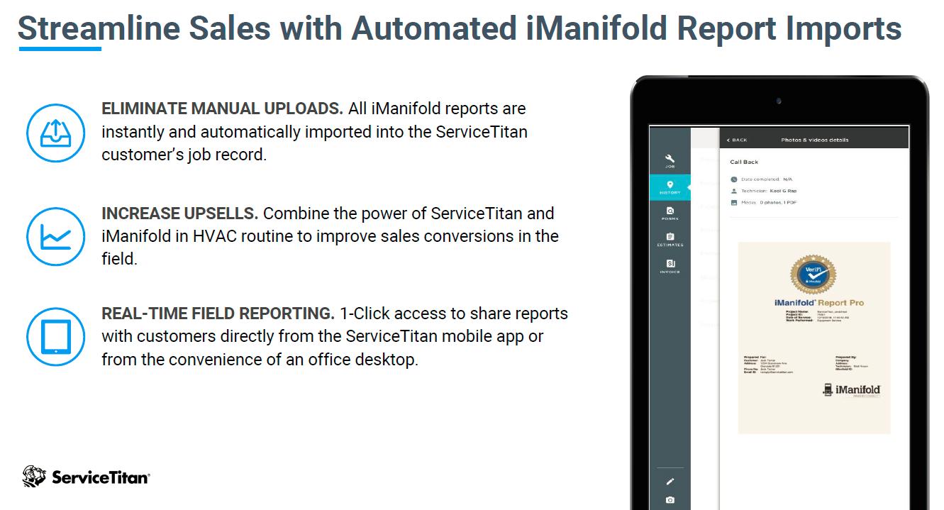 ServiceTitan | IManifold